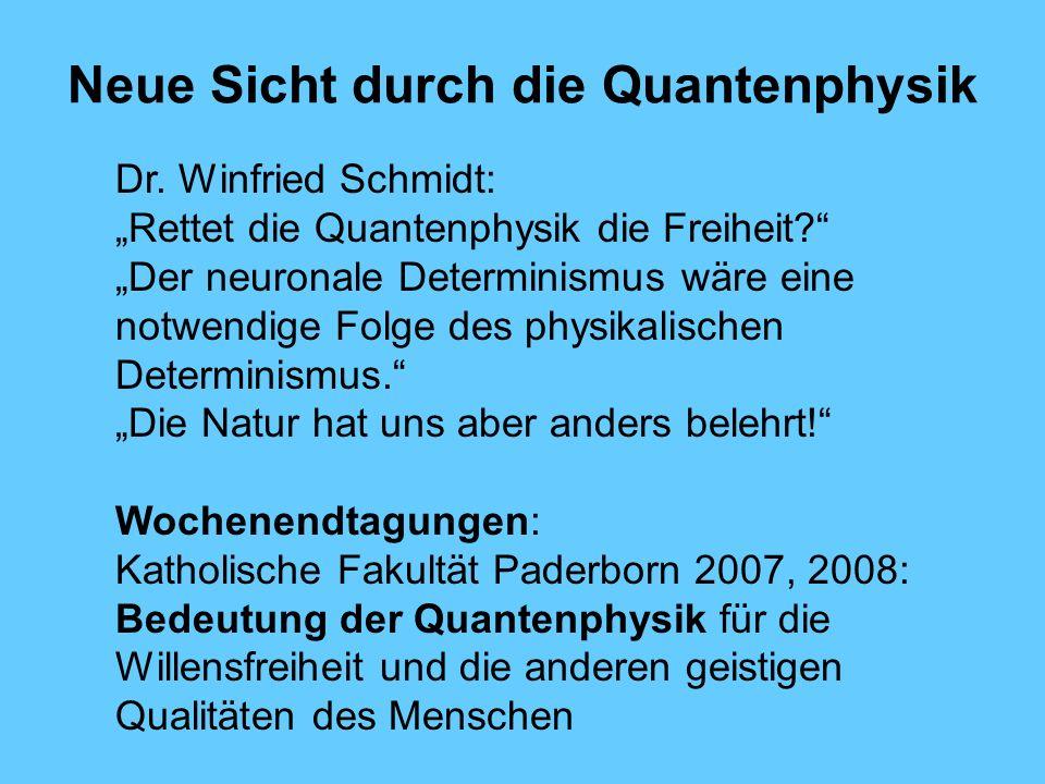 Neue Sicht durch die Quantenphysik