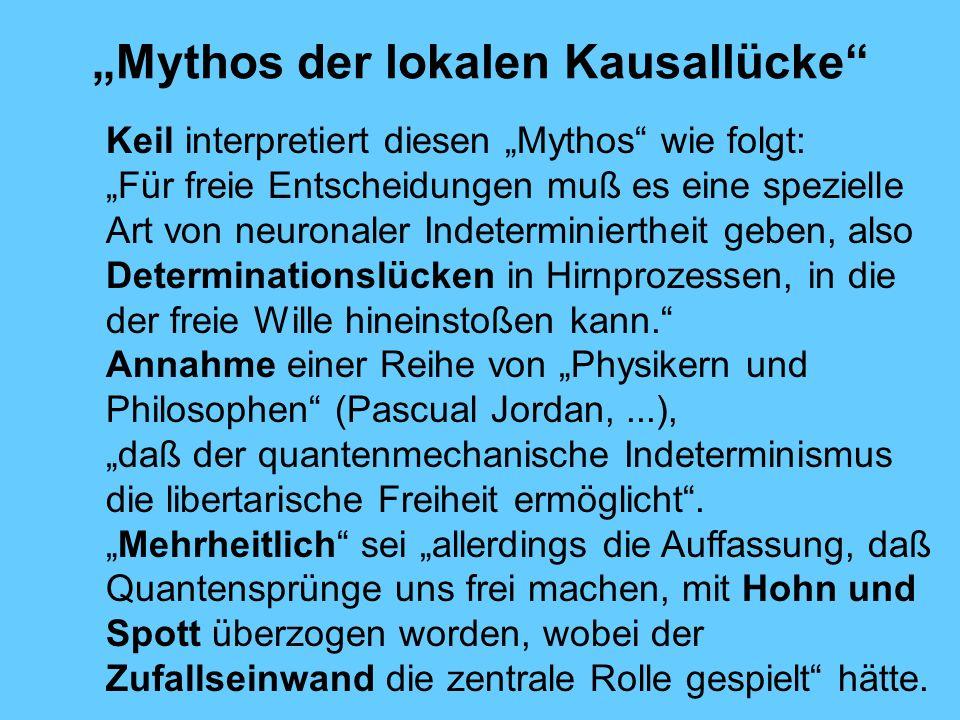 """Mythos der lokalen Kausallücke"