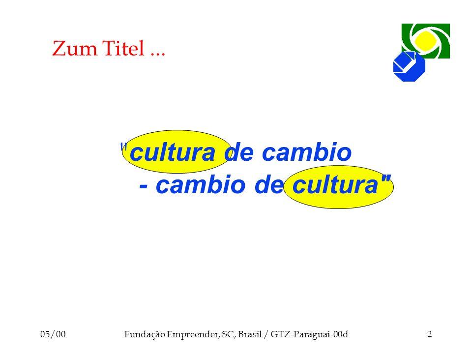 Fundação Empreender, SC, Brasil / GTZ-Paraguai-00d