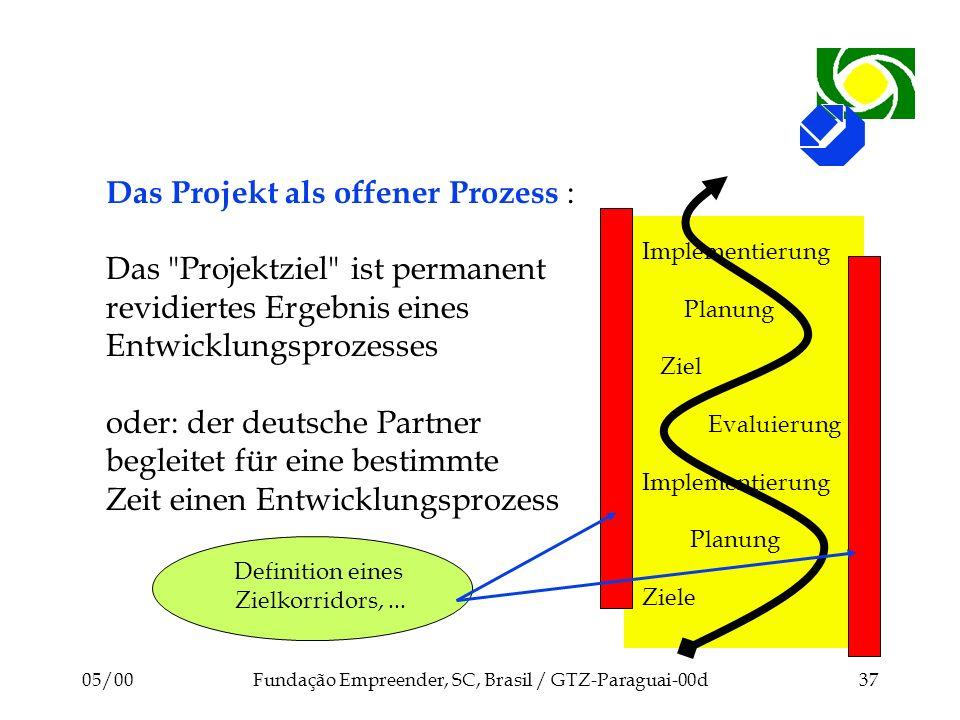 Das Projekt als offener Prozess :