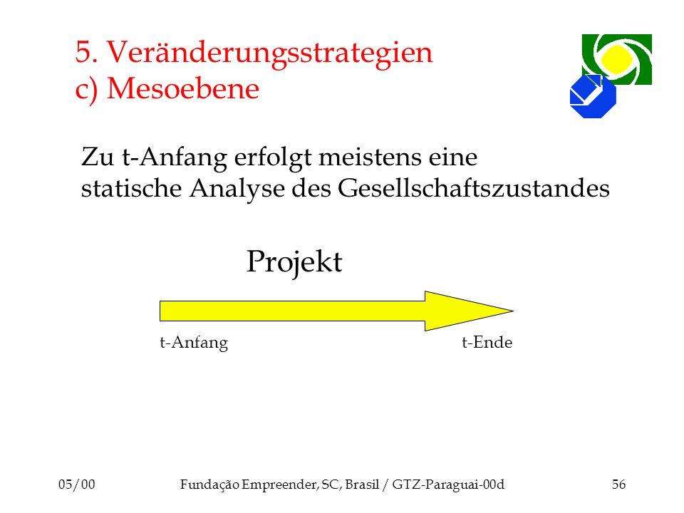 5. Veränderungsstrategien c) Mesoebene