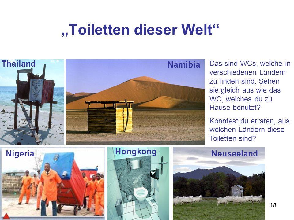 """""""Toiletten dieser Welt"""