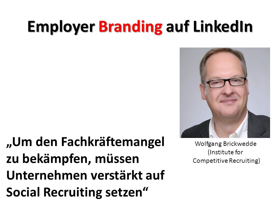Employer Branding auf LinkedIn