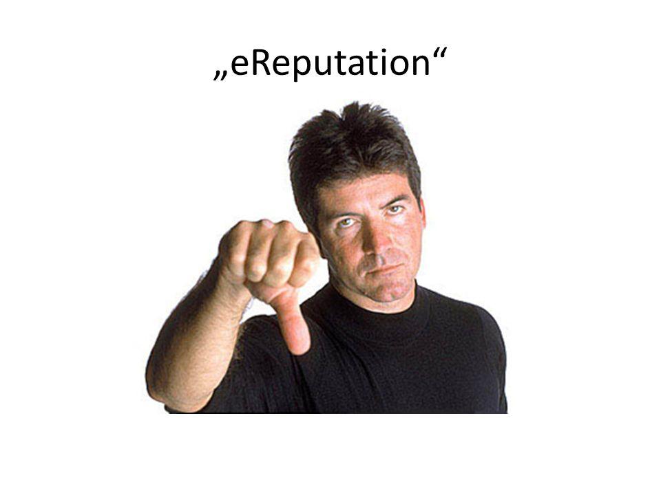 """""""eReputation"""