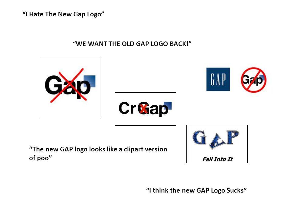 I Hate The New Gap Logo