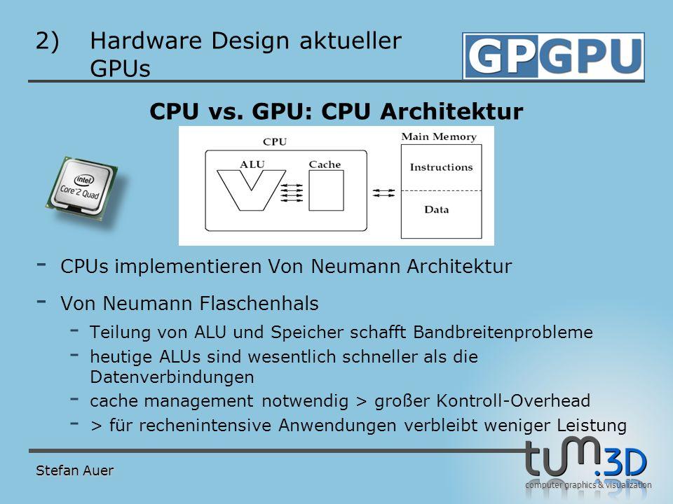 Hardware Design aktueller GPUs