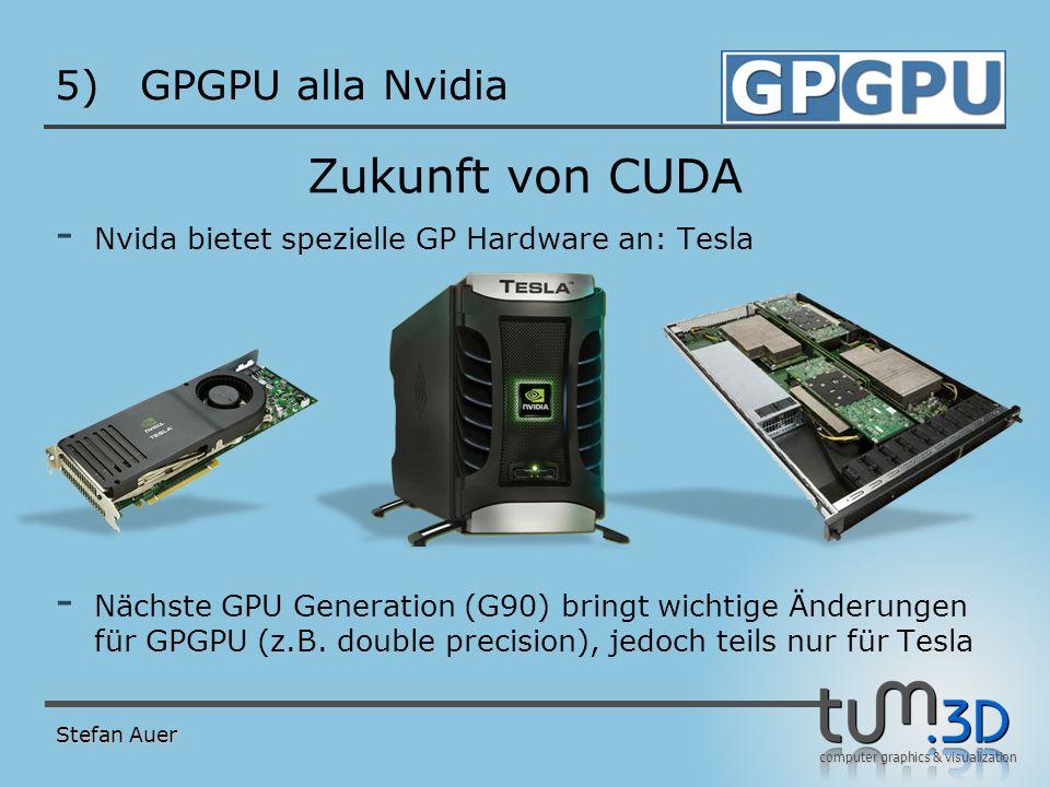 CUDA Bewertung GPGPU alla Nvidia