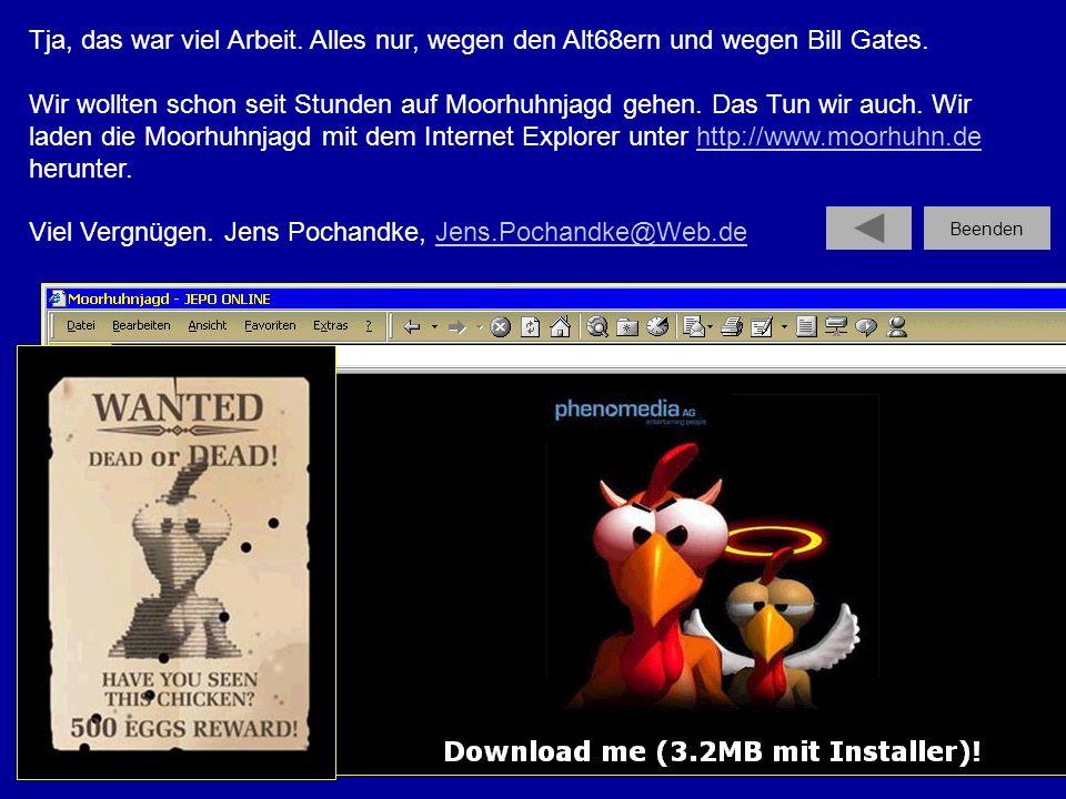Viel Vergnügen. Jens Pochandke, Jens.Pochandke@Web.de