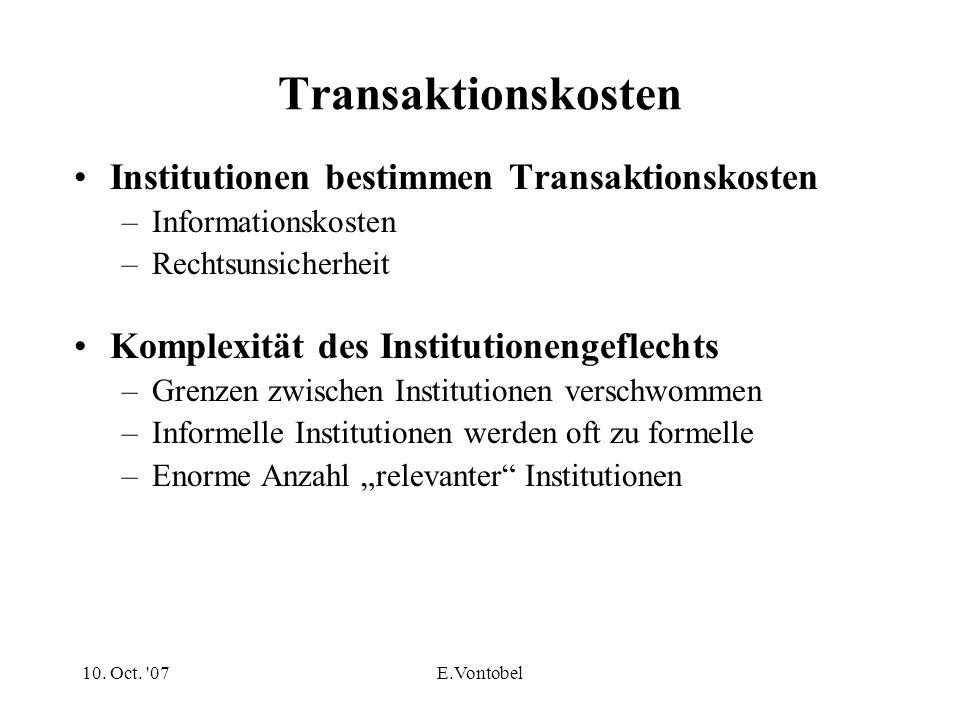 Organisationen und institutioneller Wandel