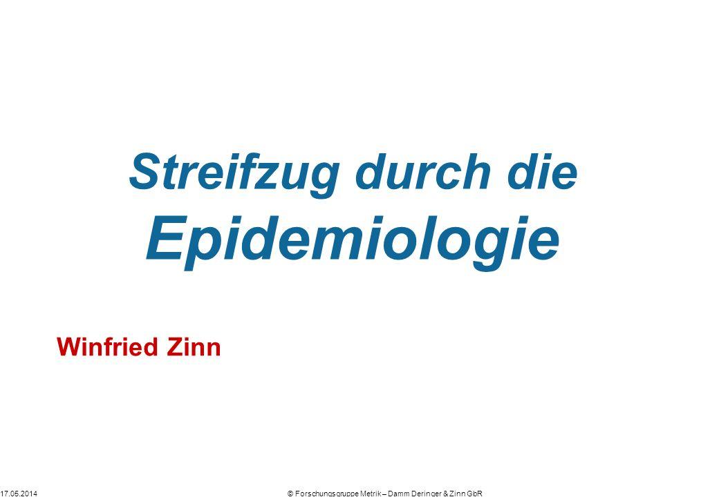 Streifzug durch die Epidemiologie