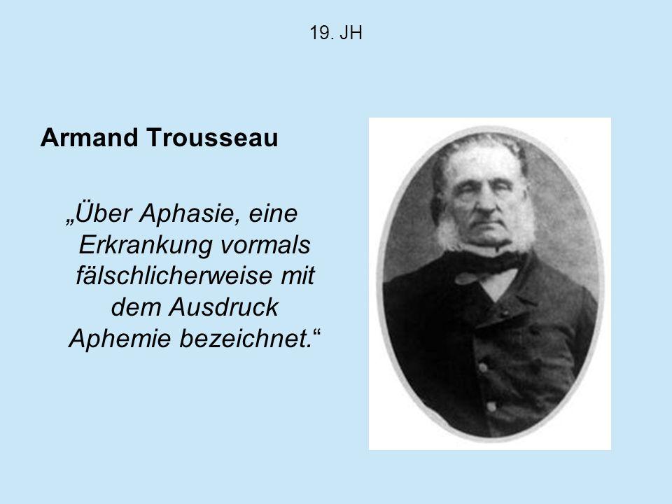 19. JH Armand Trousseau.