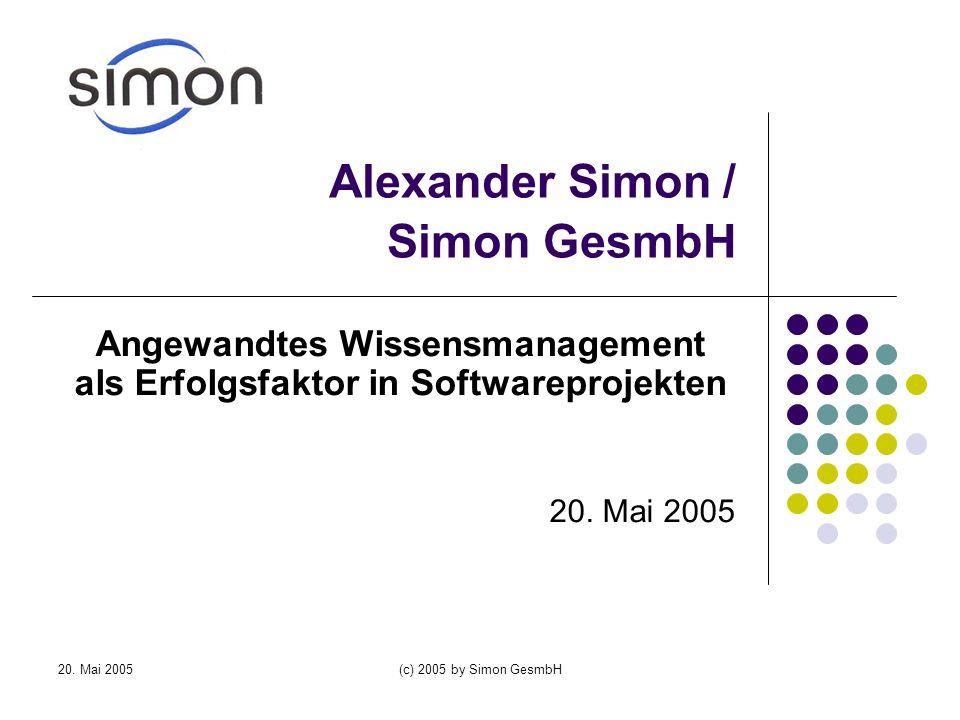 Alexander Simon / Simon GesmbH