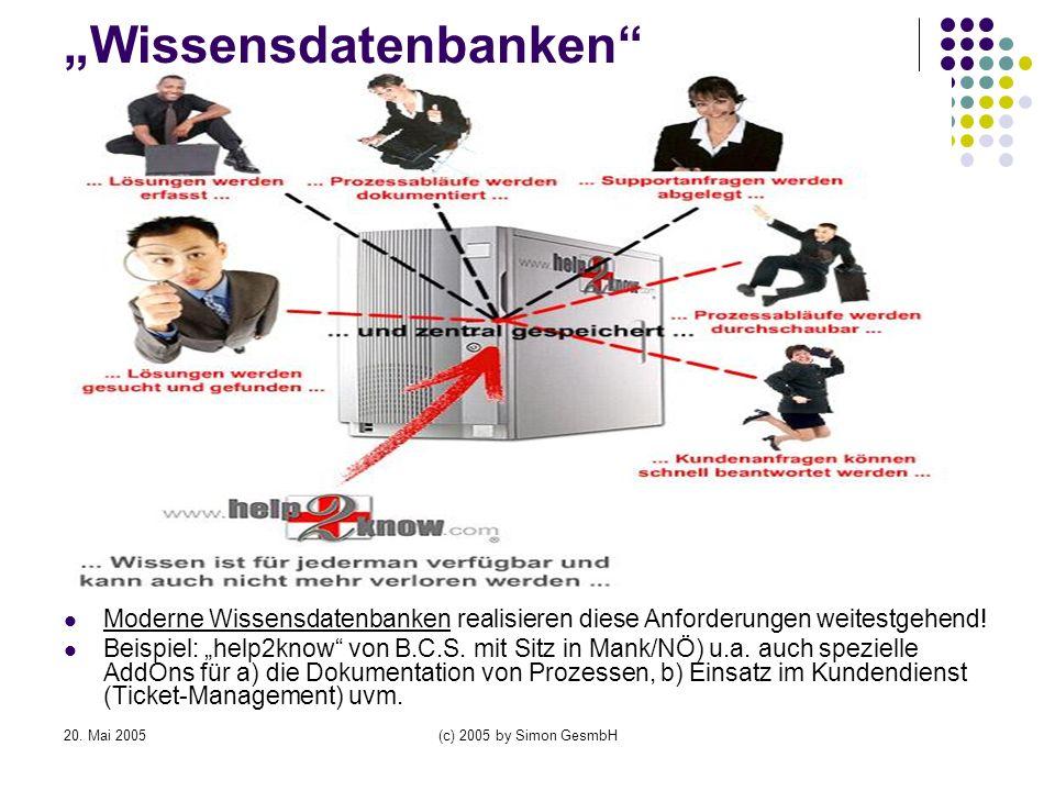 """""""Wissensdatenbanken"""