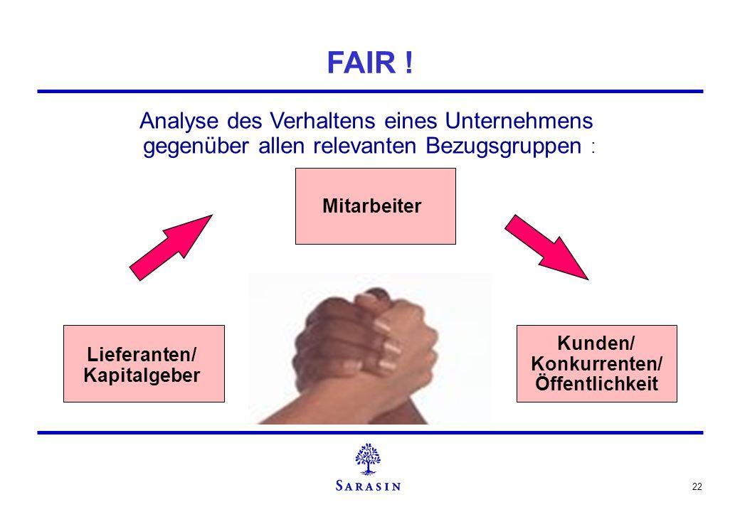 Lieferanten/ Kapitalgeber