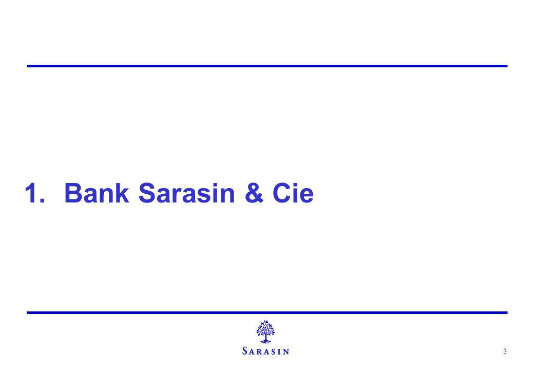 Bank Sarasin & Cie