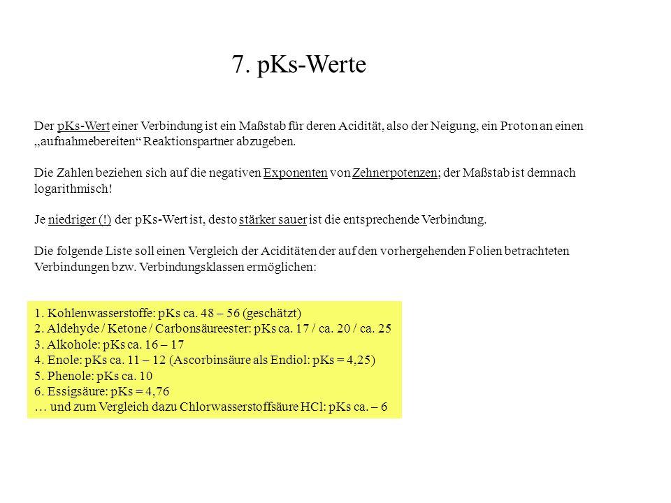 7. pKs-Werte
