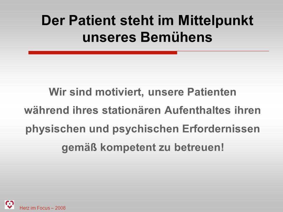 Der Patient steht im Mittelpunkt unseres Bemühens