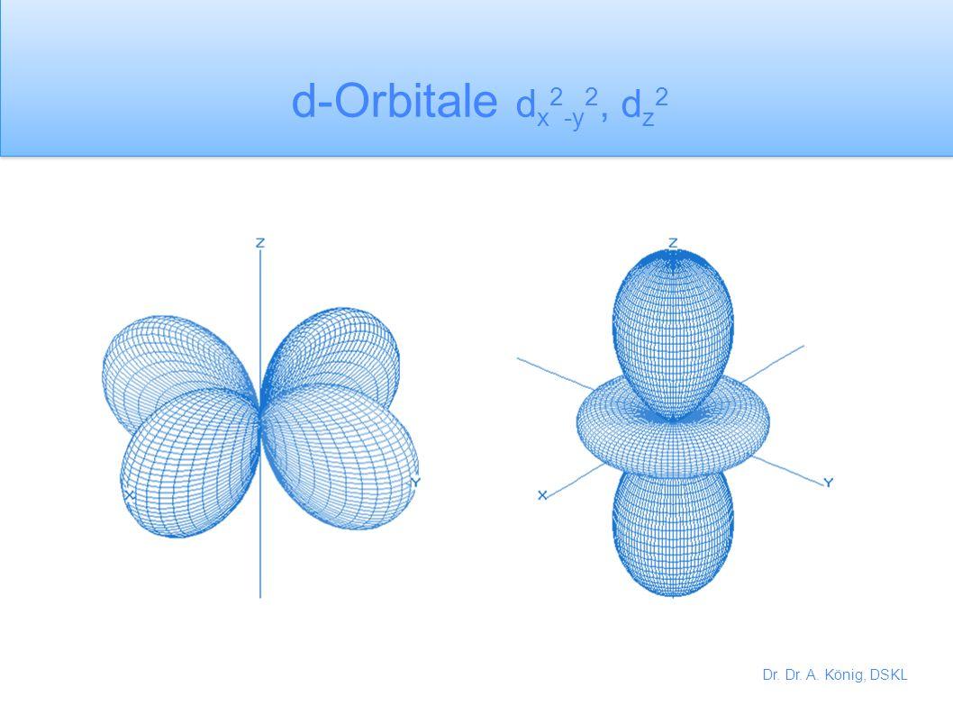 d-Orbitale dx2-y2, dz2