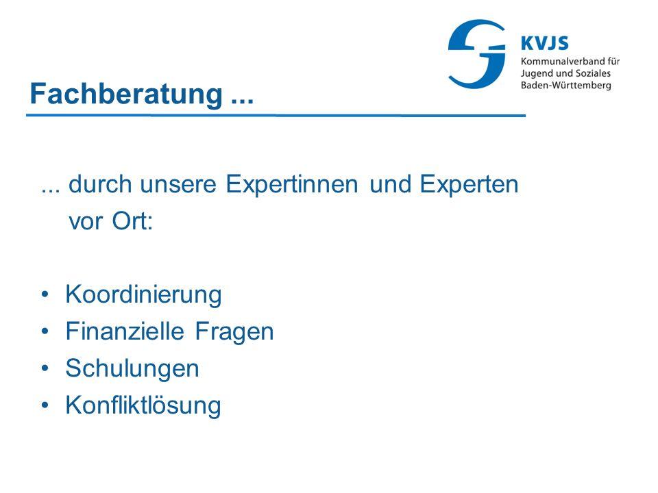 Fachberatung ... ... durch unsere Expertinnen und Experten vor Ort: