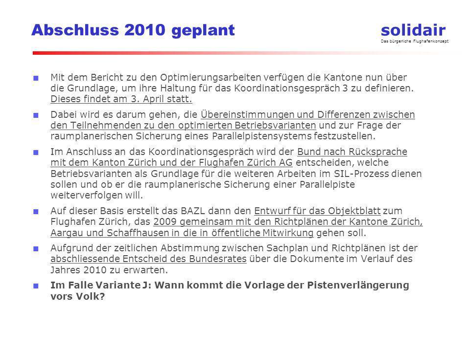 Abschluss 2010 geplant