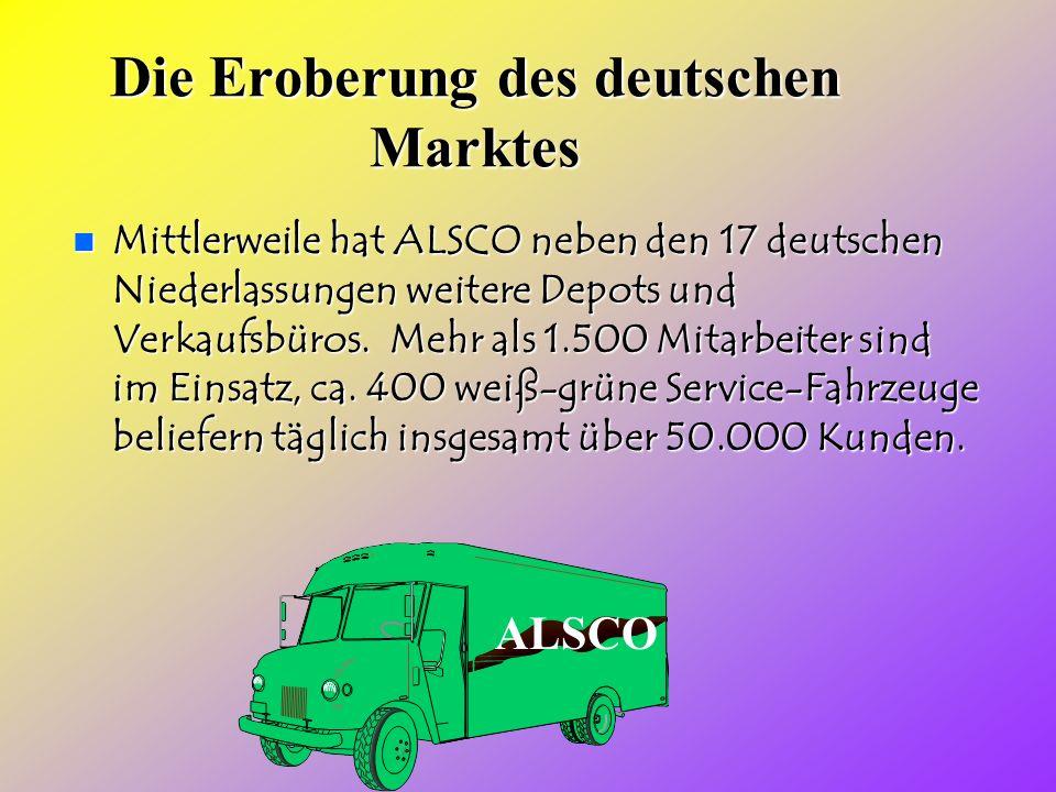 Die Eroberung des deutschen Marktes