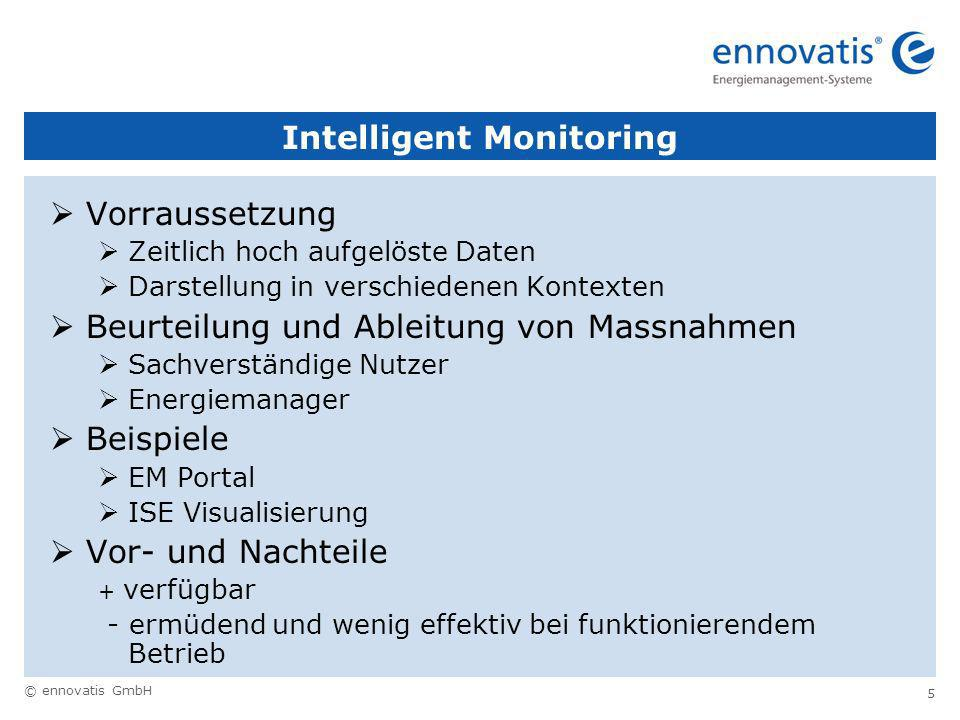 Intelligent Monitoring
