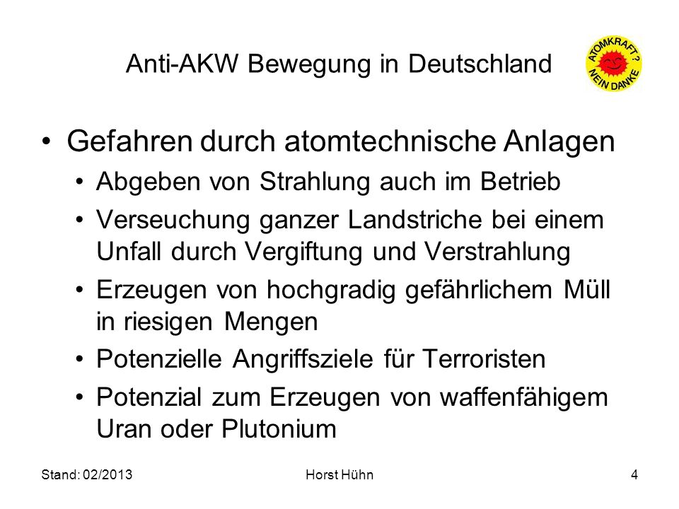 Anti-AKW Bewegung in Deutschland