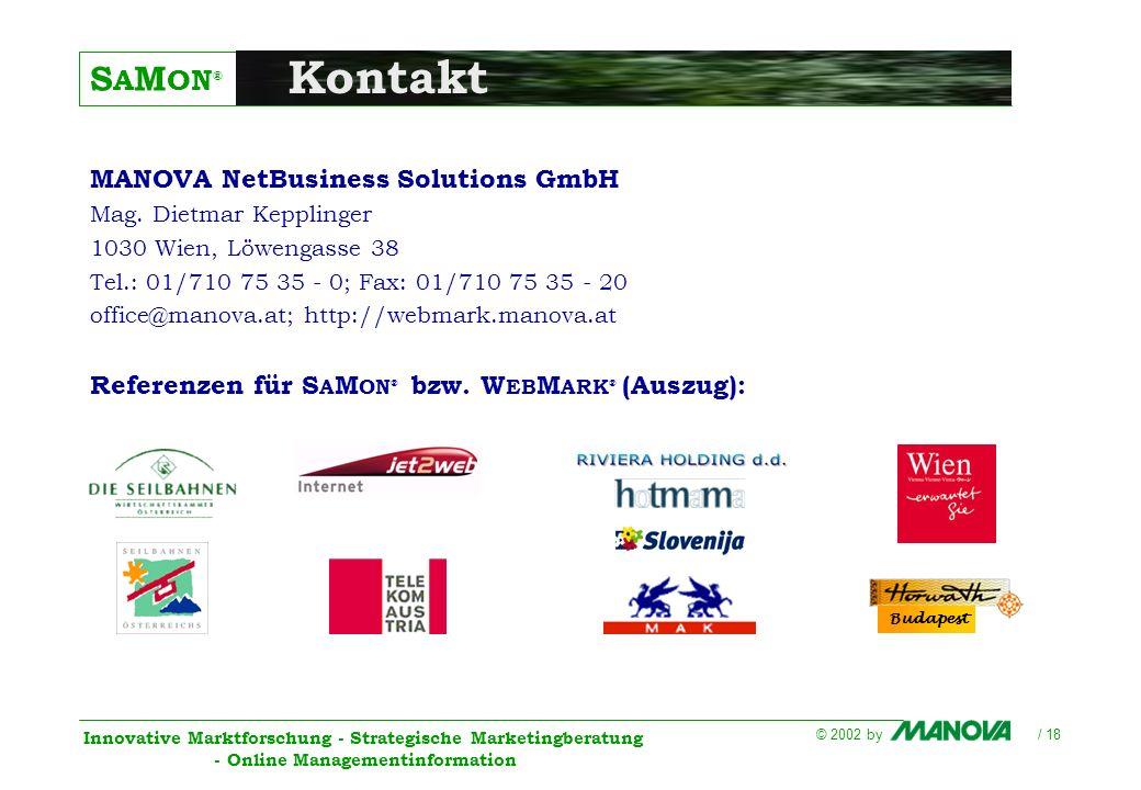 Kontakt MANOVA NetBusiness Solutions GmbH