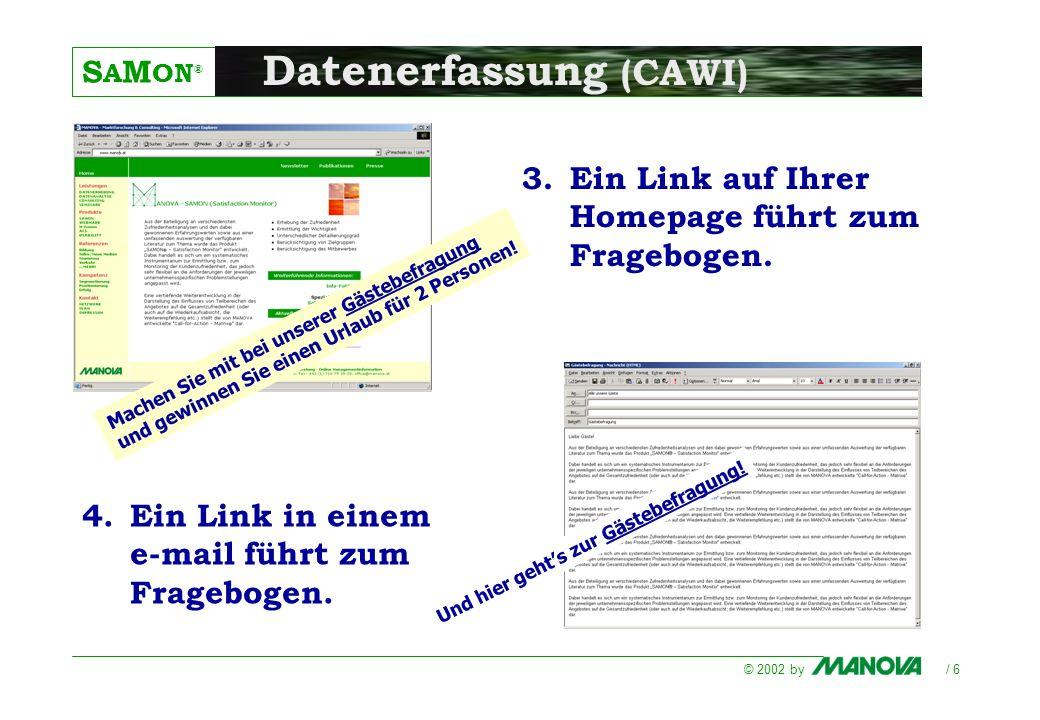 Datenerfassung (CAWI)