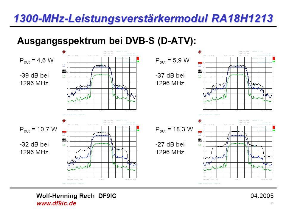1300-MHz-Leistungsverstärkermodul RA18H1213