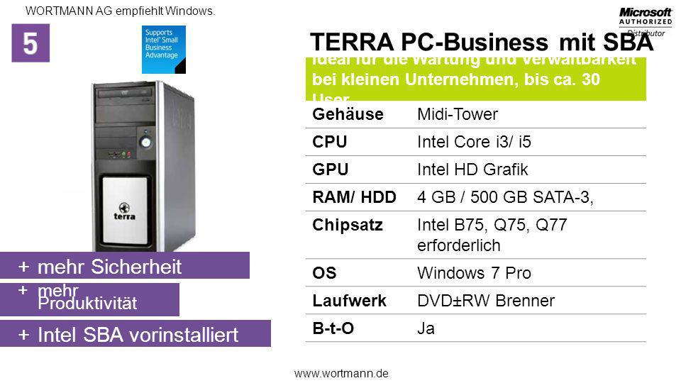 TERRA PC-Business mit SBA