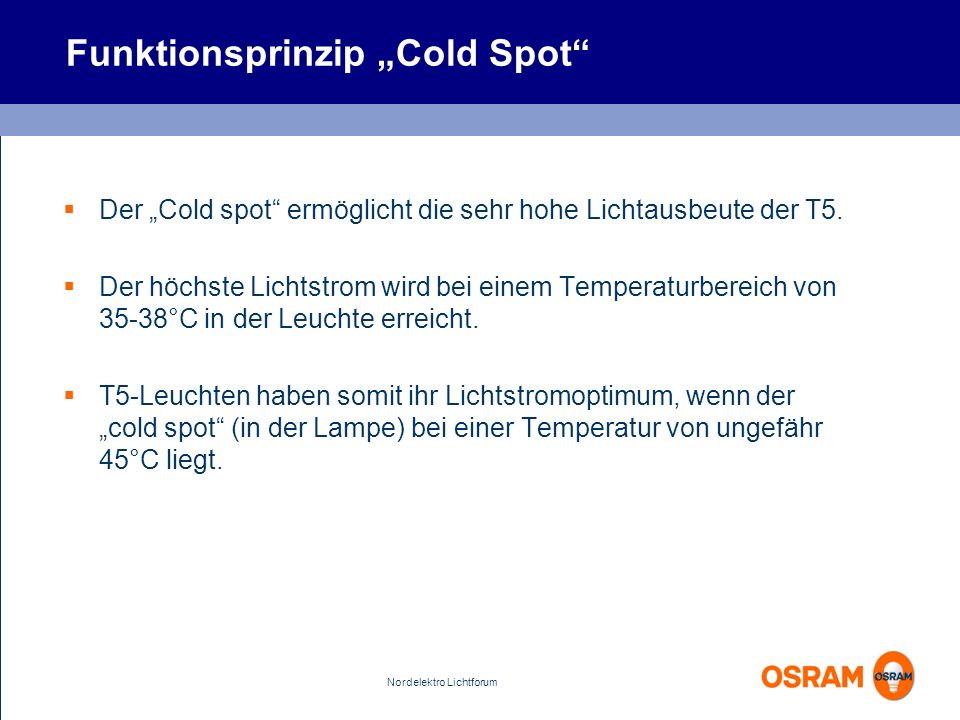 "Funktionsprinzip ""Cold Spot"