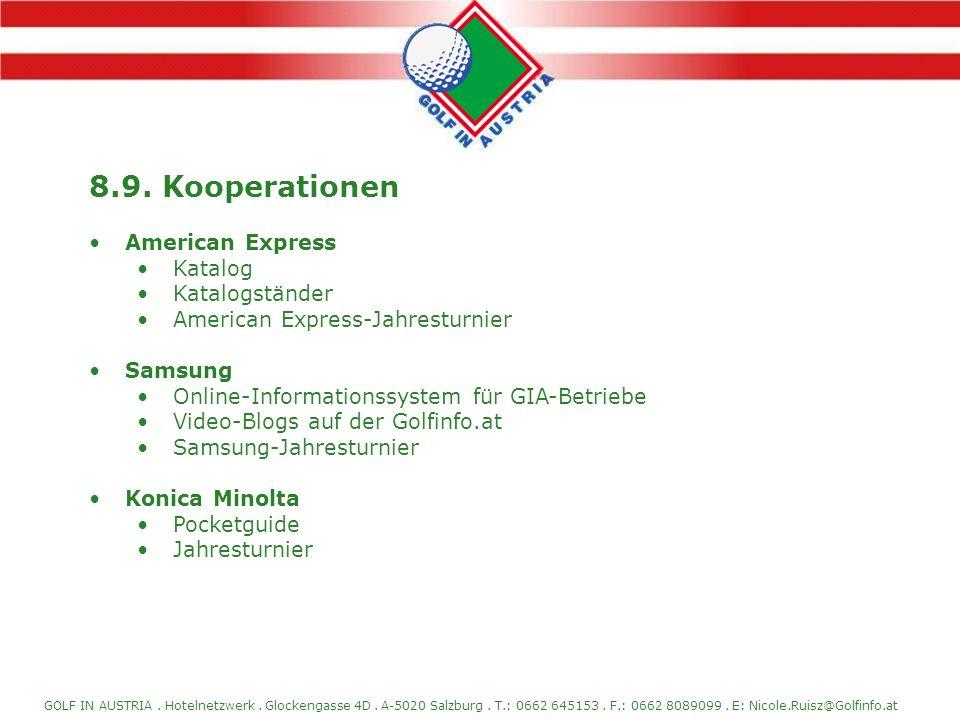 8.9. Kooperationen American Express Katalog Katalogständer