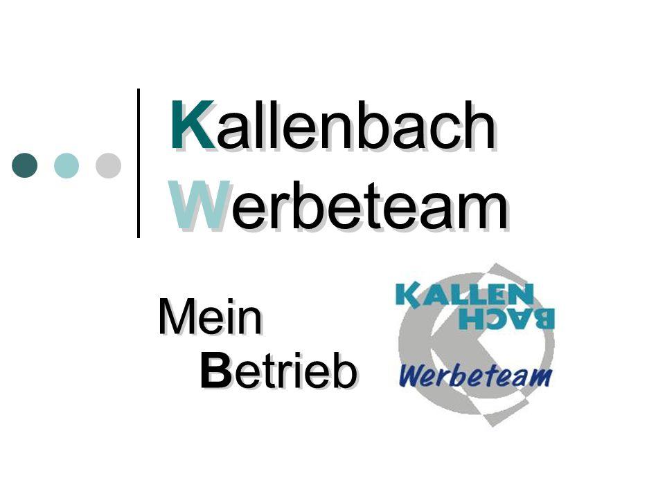 Kallenbach Werbeteam Mein Betrieb