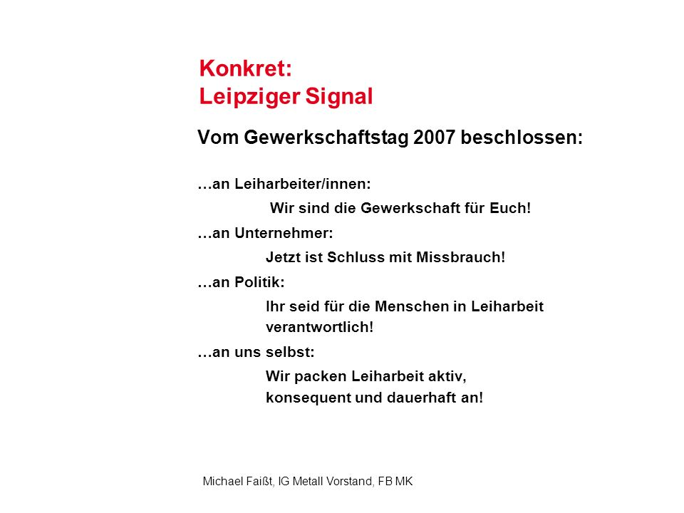 Konkret: Leipziger Signal
