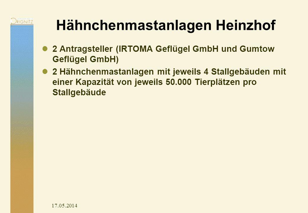 Hähnchenmastanlagen Heinzhof