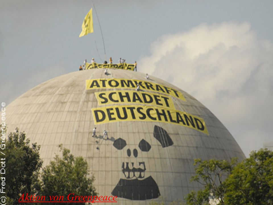 Aktion von Greenpeace