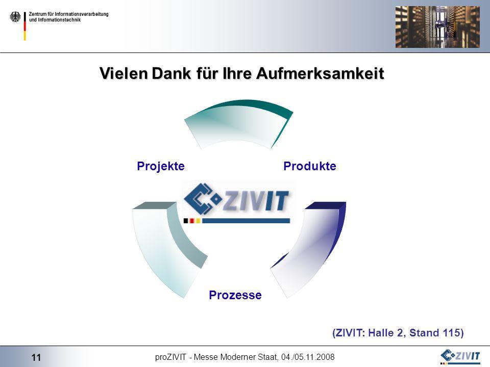 proZIVIT - Messe Moderner Staat, 04./05.11.2008
