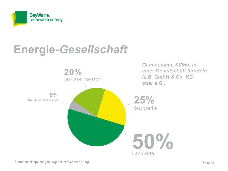 Energie-Gesellschaft