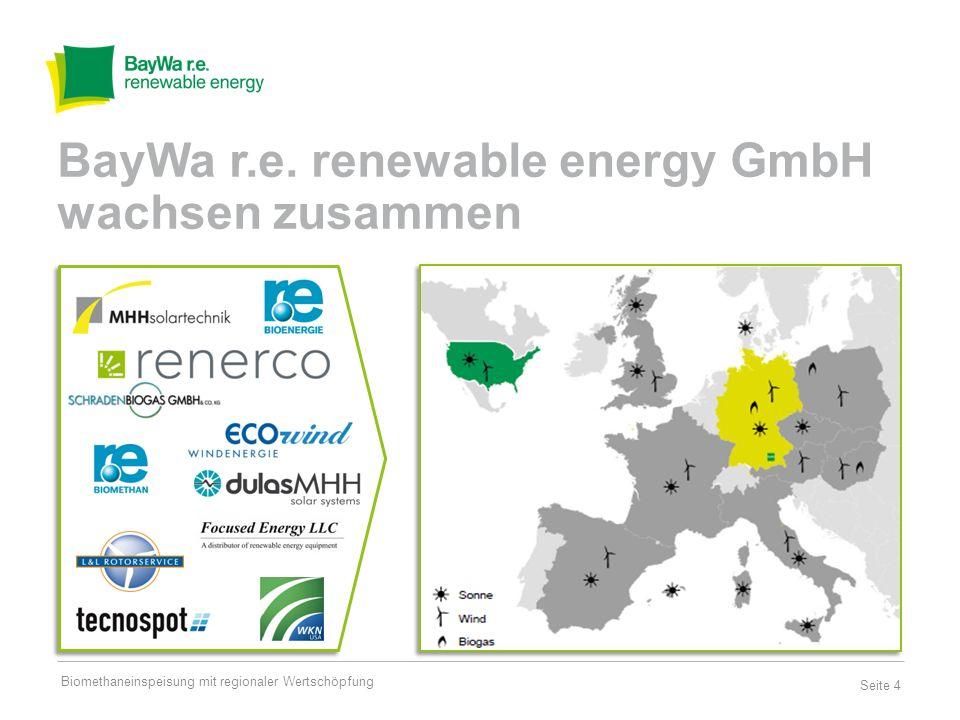 BayWa r.e. renewable energy GmbH wachsen zusammen