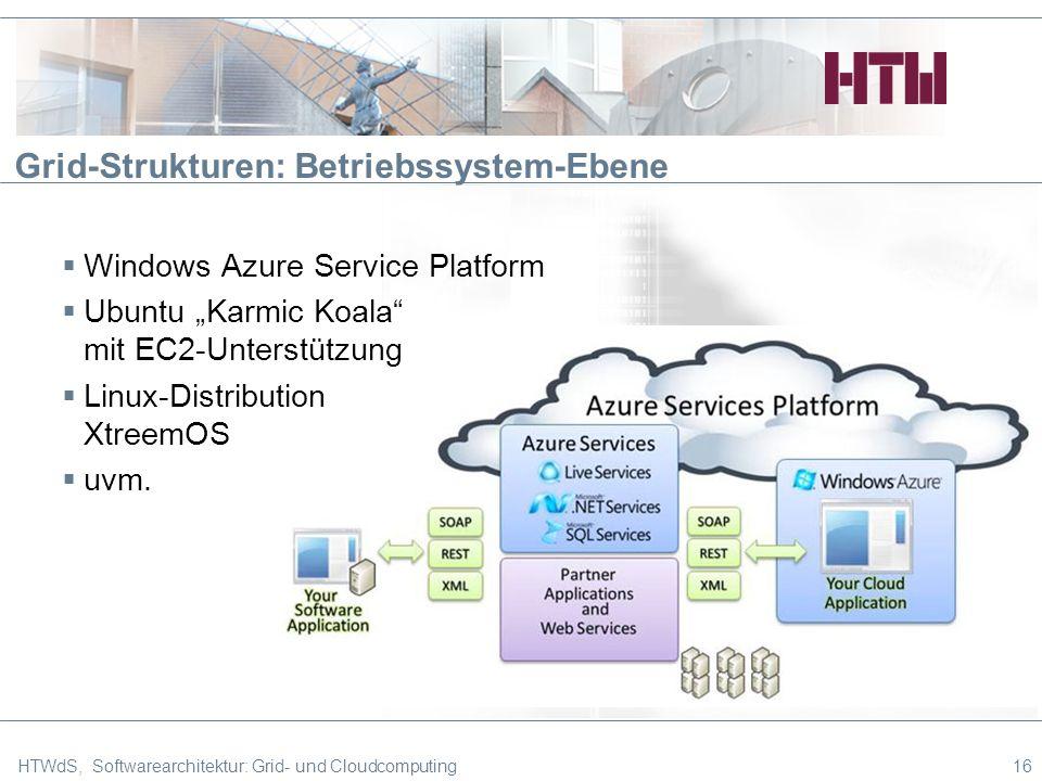 Grid-Strukturen: Betriebssystem-Ebene