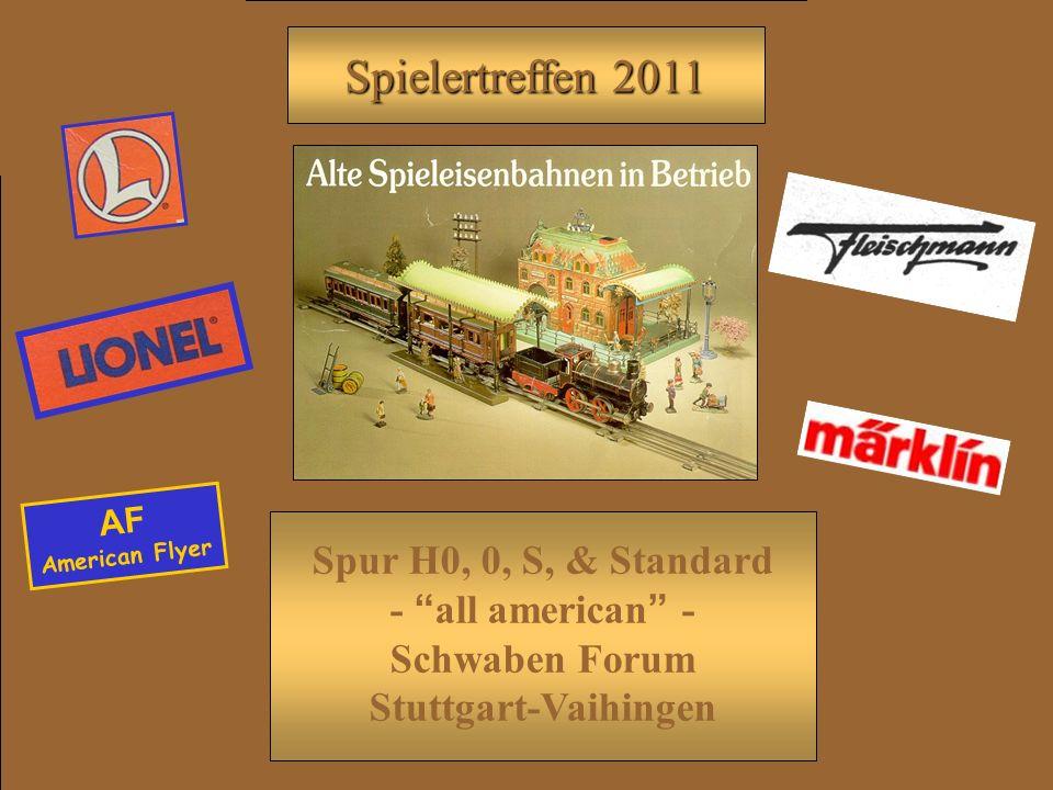 AF American Flyer Spur H0, 0, S, & Standard - all american - Schwaben Forum Stuttgart-Vaihingen