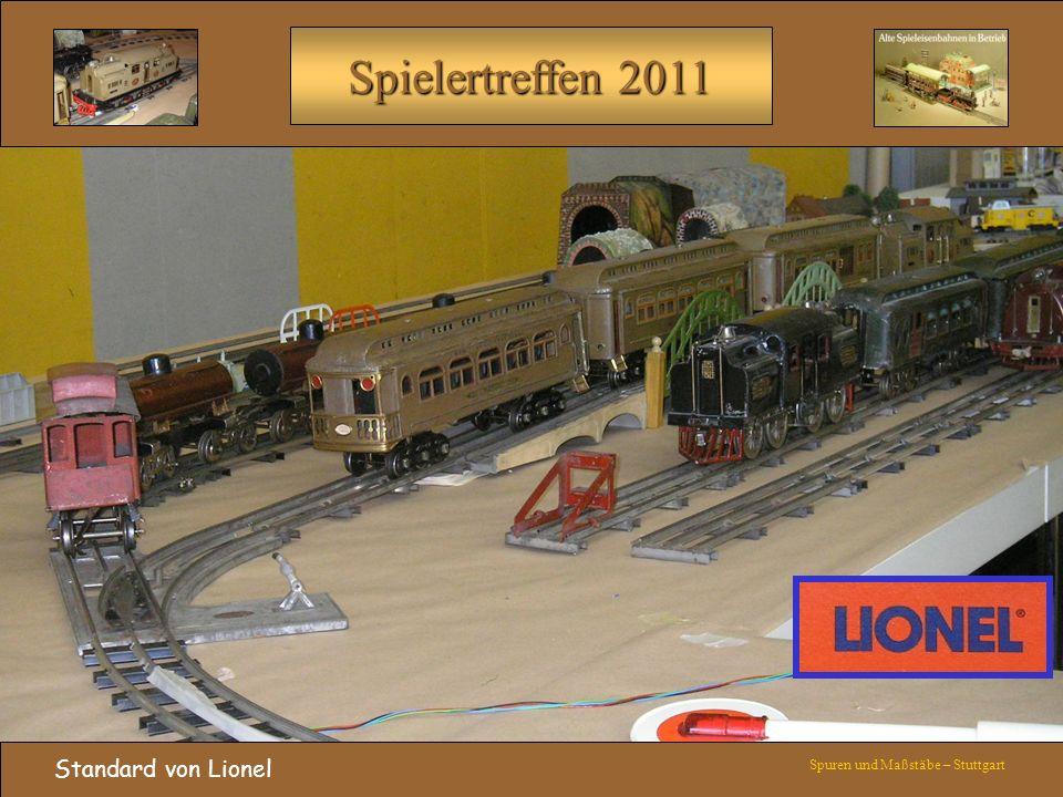 Standard von Lionel Spuren und Maßstäbe – Stuttgart