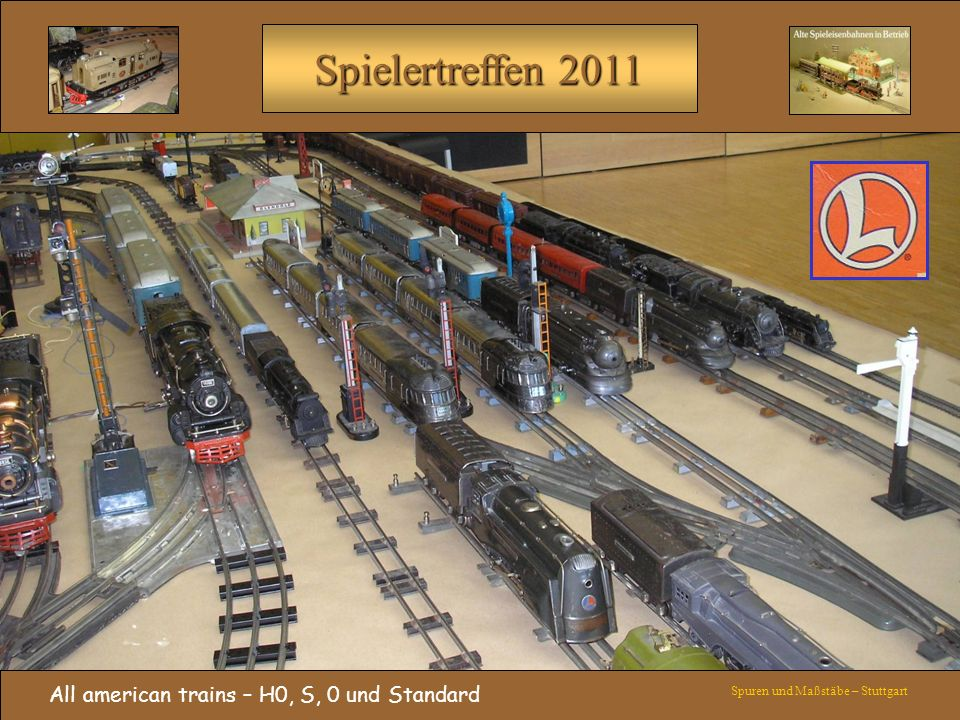All american trains – H0, S, 0 und Standard