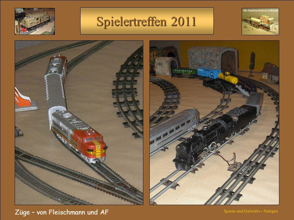 Züge – von Fleischmann und AF
