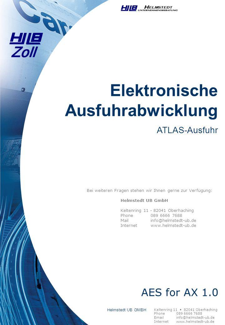Elektronische Ausfuhrabwicklung