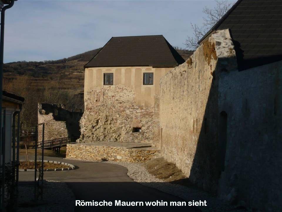 Römische Mauern wohin man sieht