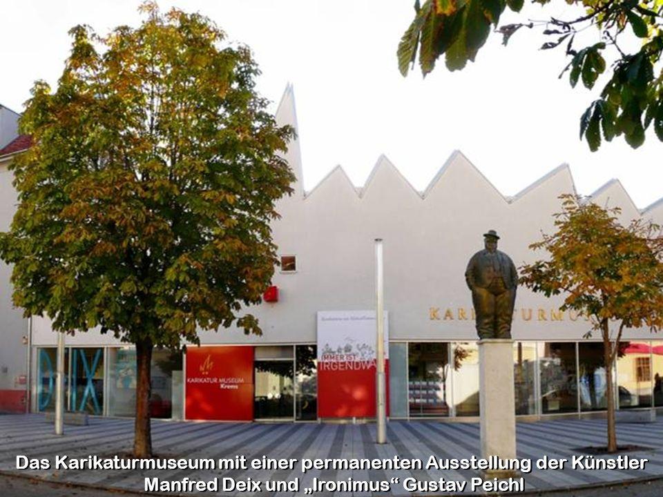 Das Karikaturmuseum mit einer permanenten Ausstellung der Künstler