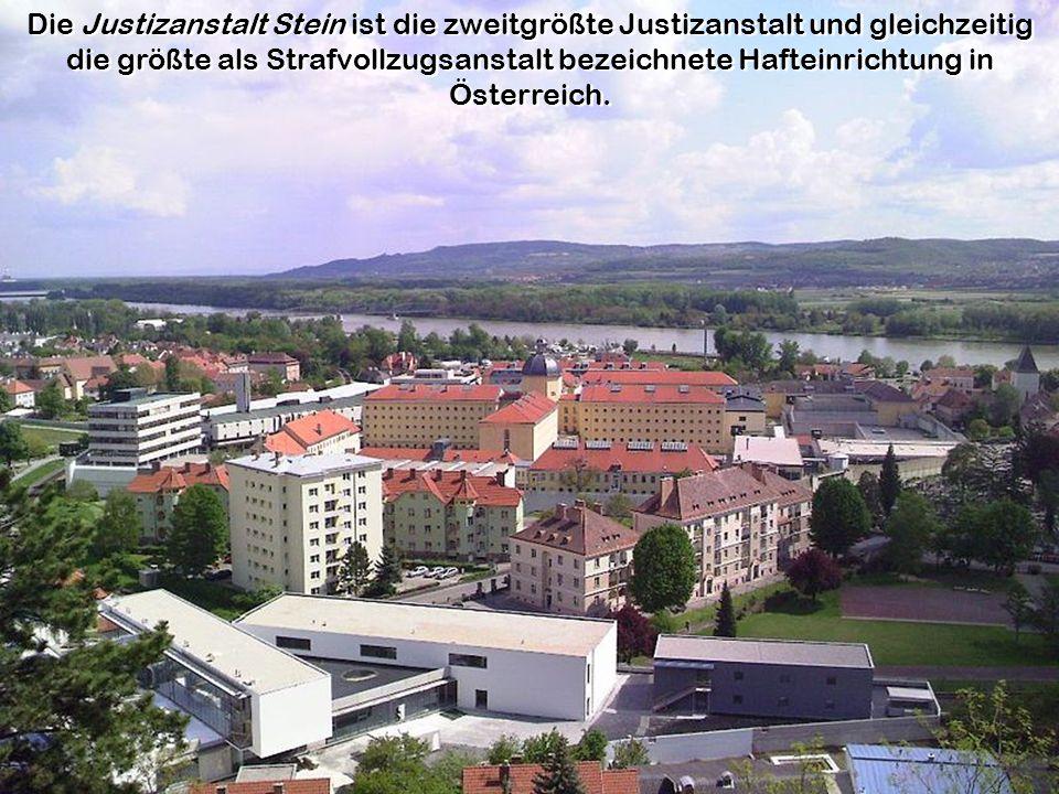 Die Justizanstalt Stein ist die zweitgrößte Justizanstalt und gleichzeitig die größte als Strafvollzugsanstalt bezeichnete Hafteinrichtung in Österreich.