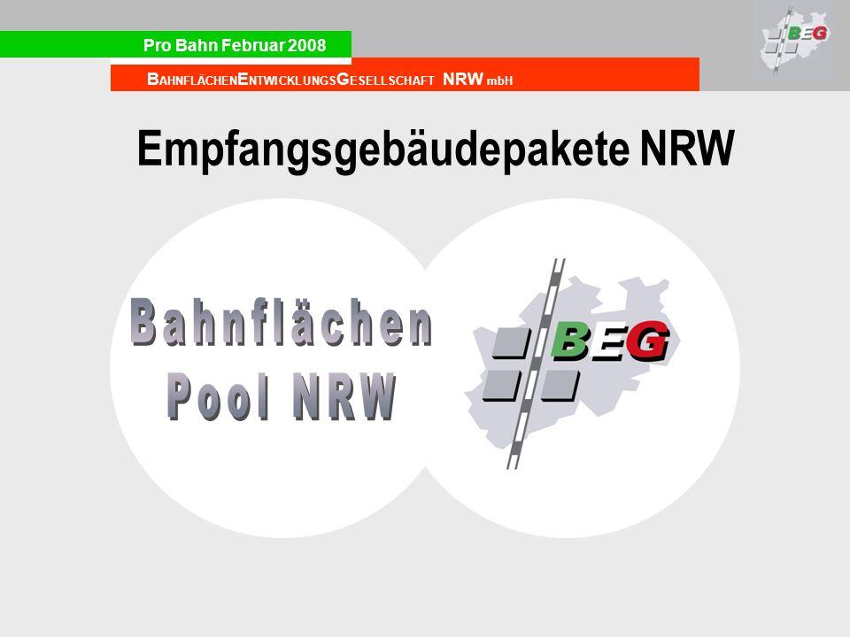 Empfangsgebäudepakete NRW